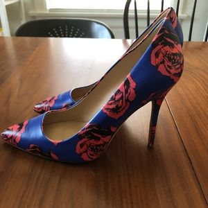 J. Crew Rose Pumps